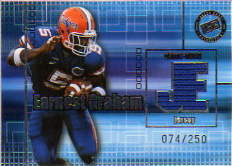 2003 Press Pass Game Used Jerseys Silver #JCEG Earnest Graham