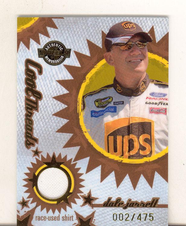 2005 Wheels American Thunder Cool Threads #CT12 Dale Jarrett