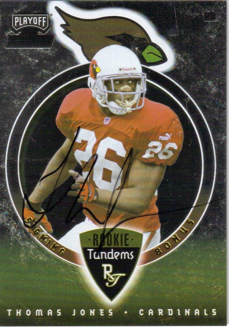 2000 Playoff Momentum Signing Bonus Tandems #RT5 Thomas Jones/Chris Redman
