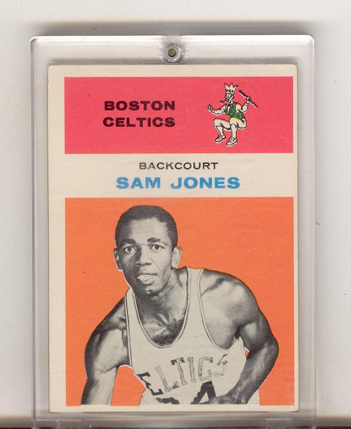 1961-62 Fleer #23 Sam Jones RC
