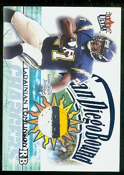 2002 Ultra San Diego Bound Memorabilia #12 LaDainian Tomlinson