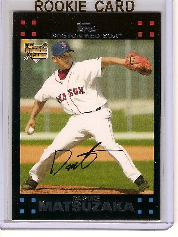 Daisuke Matsuzaka 2007 Red Sox Topps #BOS1