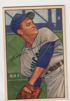 1952 Bowman #22 Willard Ramsdell