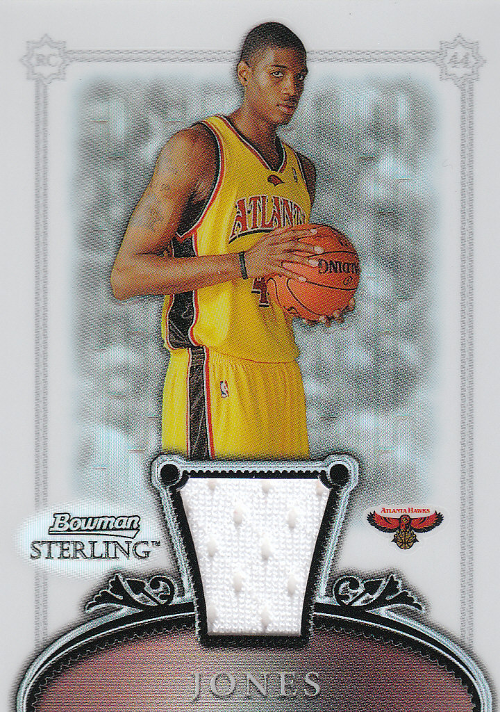 2006-07 Bowman Sterling Refractors #62 Solomon Jones JSY