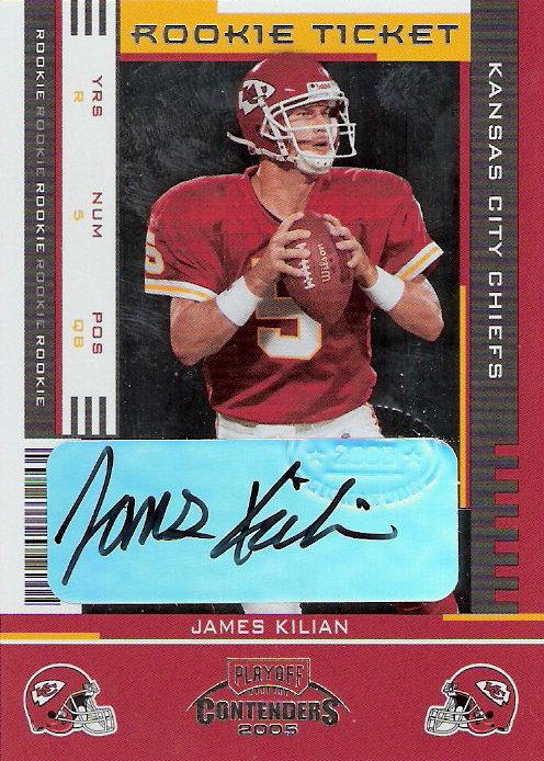 2005 Playoff Contenders #186 James Kilian AU RC