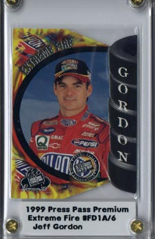 1999 Press Pass Premium Extreme Fire #FD1A Jeff Gordon 1:240