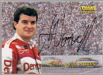 1994 Traks Autographs #A9 Joe Nemechek