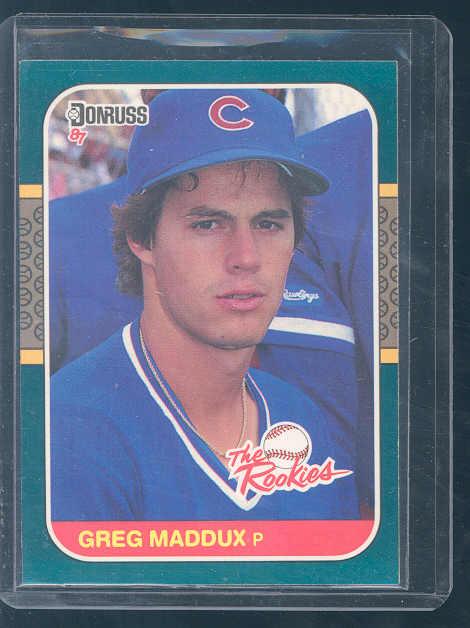 1987 Donruss Rookies #52 Greg Maddux