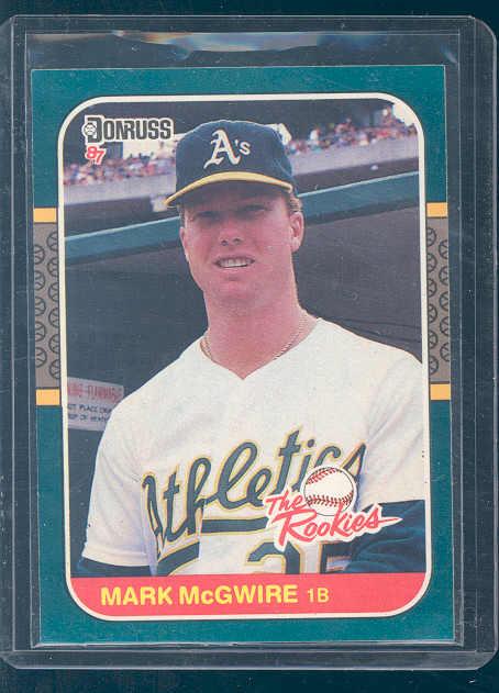 1987 Donruss Rookies #1 Mark McGwire