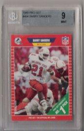 1989 Pro-Set #494 Barry Sanders ROOKIE BGS Mint 9 #1 Draft PICK! NICE!!