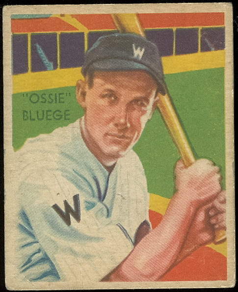 1934-36 Diamond Stars #71 Ossie Bluege (35G)