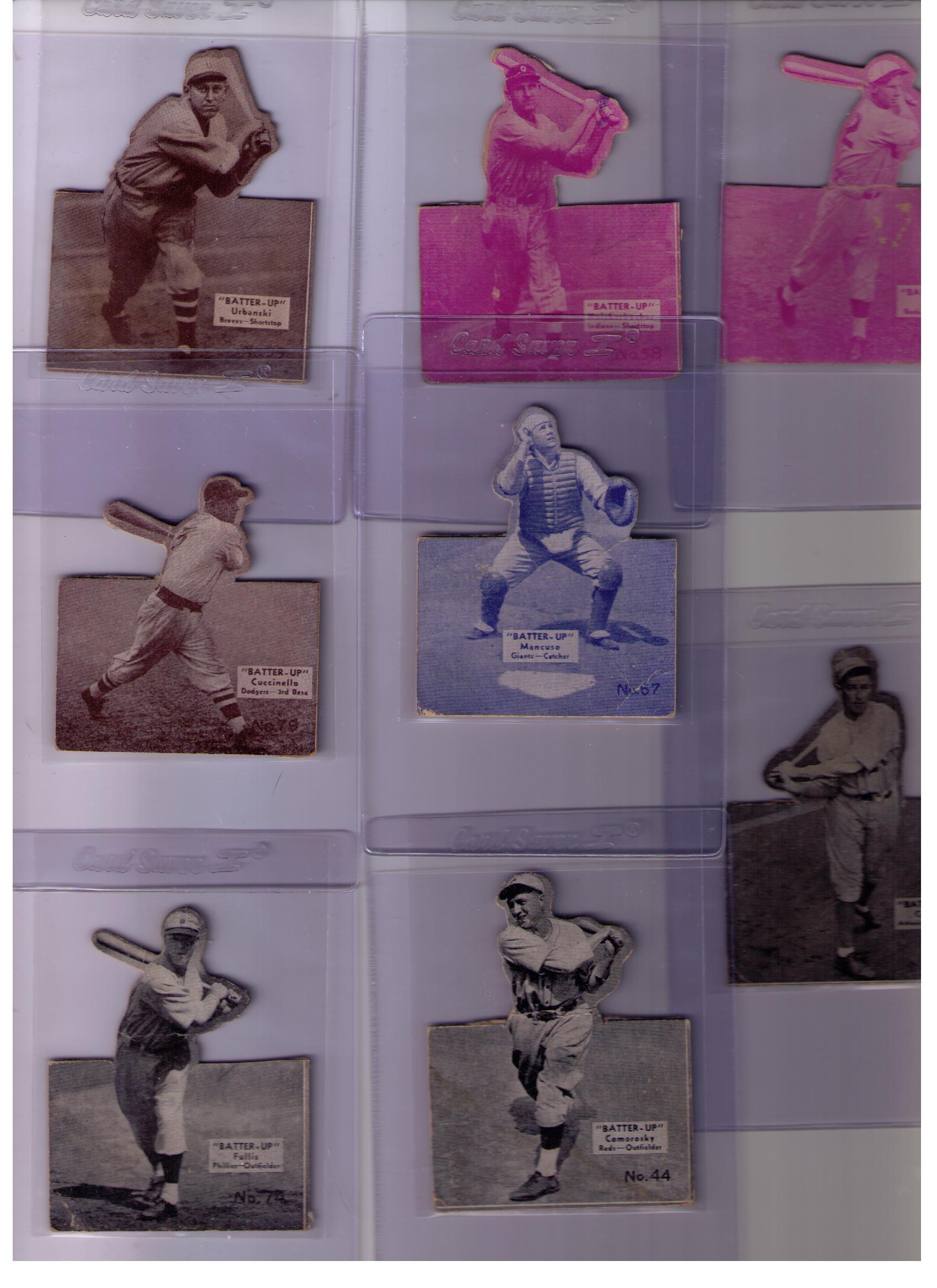1934-36 Batter-Up #44 Adam Comorosky