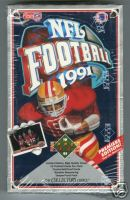 1991 Upper Deck Football Unopened Box (36 packs/12 card per pack) Possible Brett Farve PSA 10 or BGS 9.5/10 Rookie Card (RC)