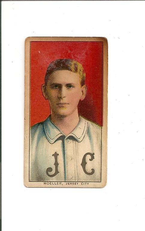 1909-11 T206 #342 Dan Moeller ML