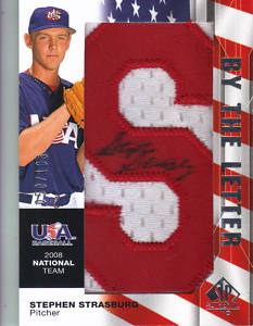 2008 Upper Deck SP Authentic Baseball Factory Sealed HOBBY Box - 3 Autograph ( 1 By The Letter Signature ) Cards Per Box On Avg. - Possible Stephen Strasburg Derek Jeter Ken Griffey - In Stock Now