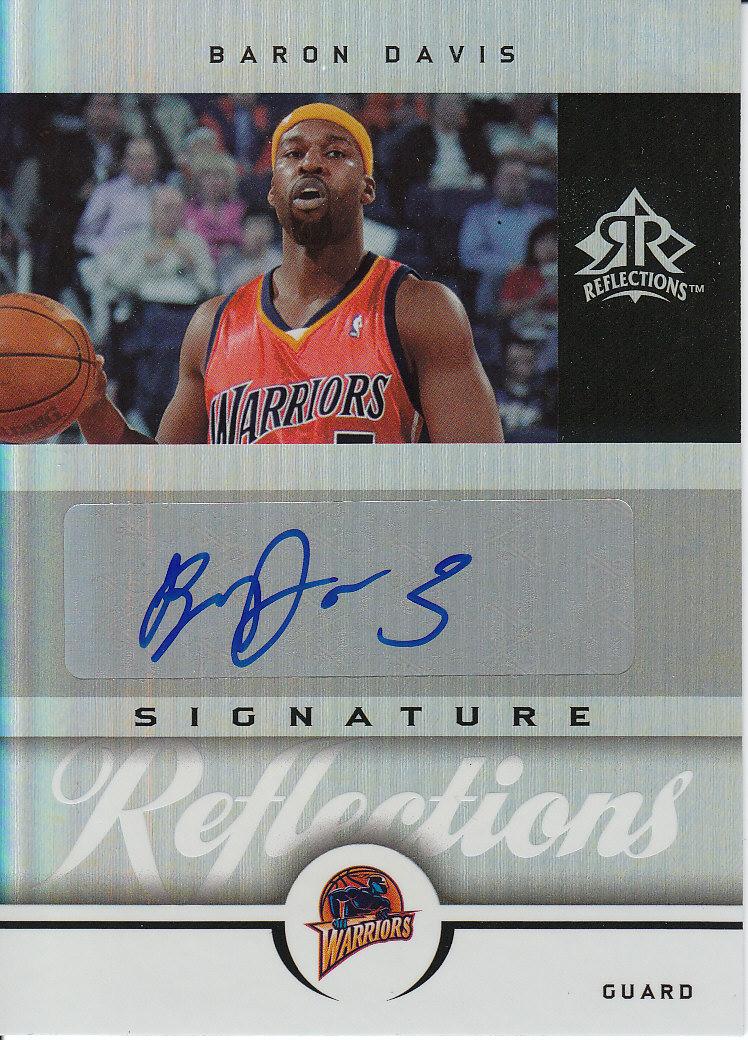 2005-06 Reflections Signatures #BD Baron Davis/35