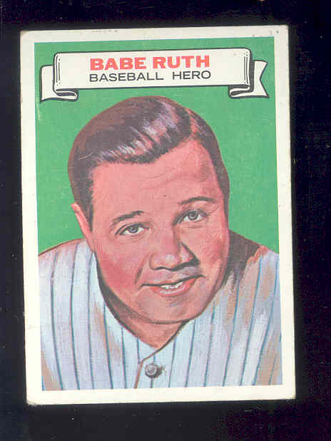 1967 Topps Who am I #12 Babe Ruth