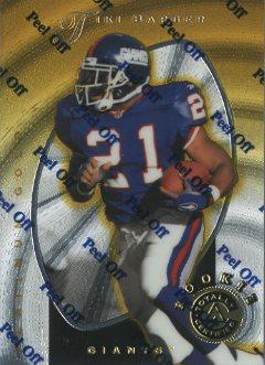 1997 Pinnacle Totally Certified Platinum Gold #129 Tiki Barber