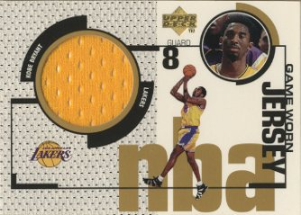 1998-99 Upper Deck Game Jerseys #GJ19 Kobe Bryant