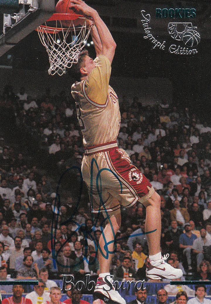 1995 Classic Autographs #15 Bob Sura/3410
