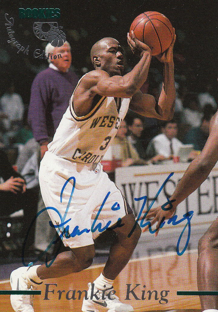 1995 Classic Autographs #35 Frankie King/3330