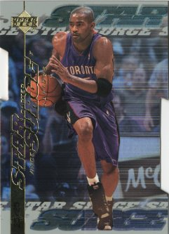 1999-00 Upper Deck Star Surge Level 2 #S4 Vince Carter