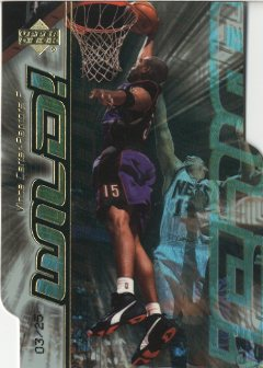 1999-00 Upper Deck Wild! Level 2 #W7 Vince Carter