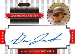 2008 Razor Signature Series Exclusives Autographs #ES27 Garrison Lassiter