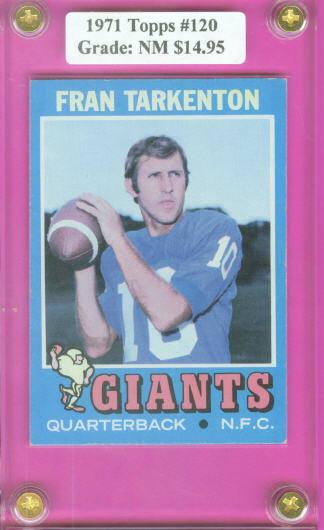 1971 Topps #120 Fran Tarkenton