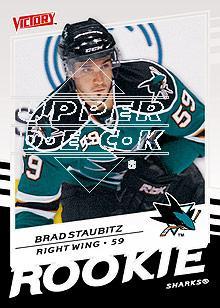2008-09 Upper Deck Victory #312 Brad Staubitz RC