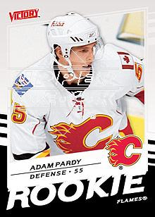 2008-09 Upper Deck Victory #339 Adam Pardy RC