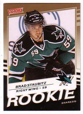 2008-09 Upper Deck Victory Gold #312 Brad Staubitz