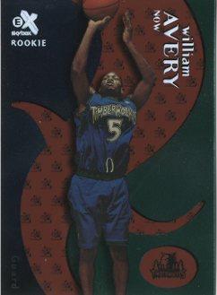 1999-00 E-X Essential Credentials Now #62 William Avery/2