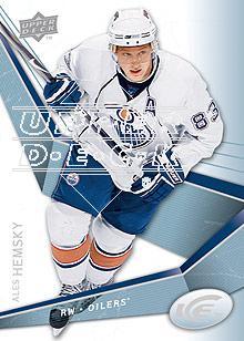 2008-09 Upper Deck Ice #1 Ales Hemsky