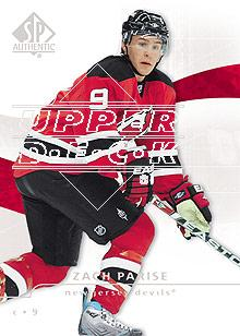 2008-09 SP Authentic #1 Zach Parise