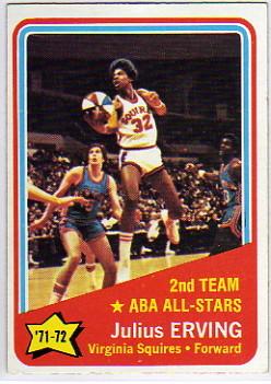 1972-73 Topps #255 Julius Erving AS