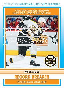2009-10 O-Pee-Chee Record Breakers #RB1 Zdeno Chara