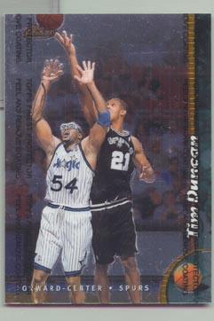 1998 -99 Topps Finest Basketball Oversized Jumbo TIM DUNCAN NICE!