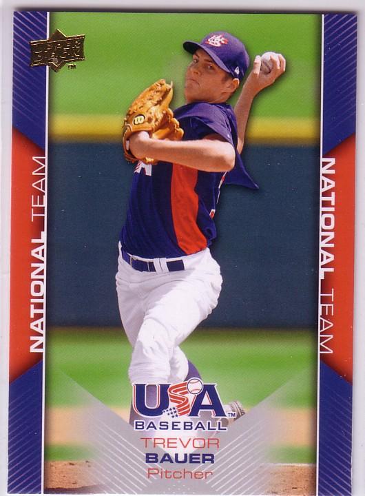 2009-10 USA Baseball #USA1 Trevor Bauer
