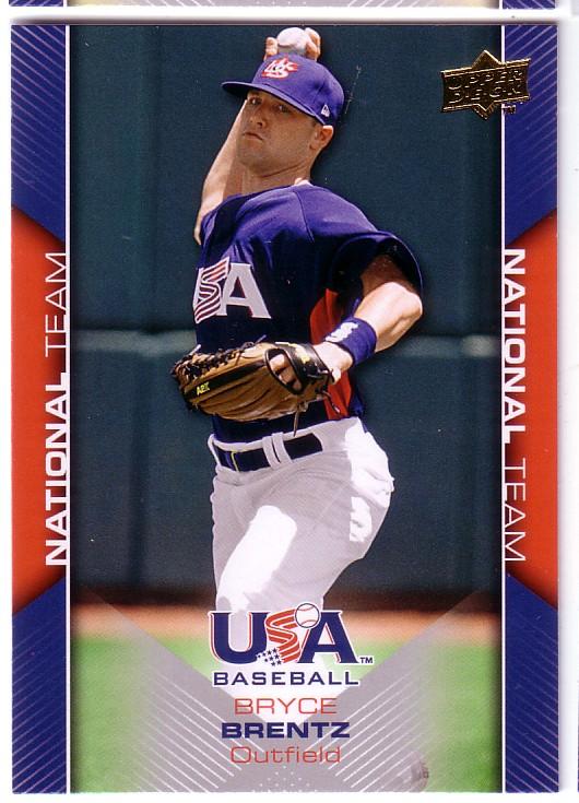 2009-10 USA Baseball #USA5 Bryce Brentz
