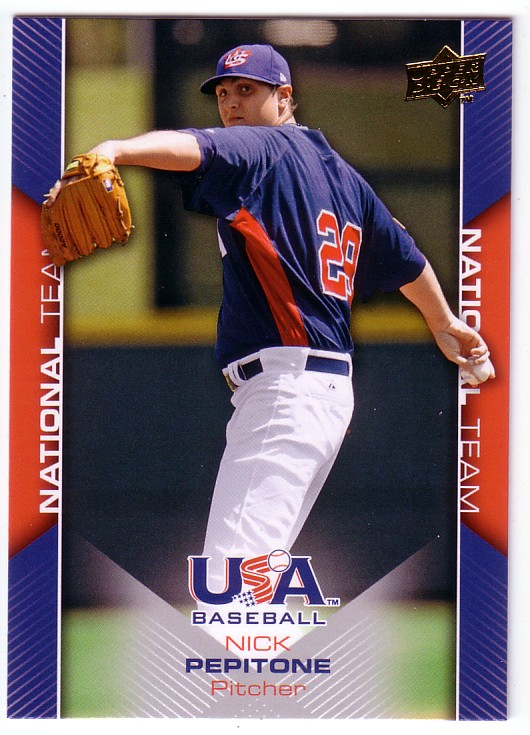 2009-10 USA Baseball #USA6 Nick Pepitone