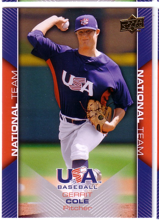 2009-10 USA Baseball #USA8 Gerrit Cole