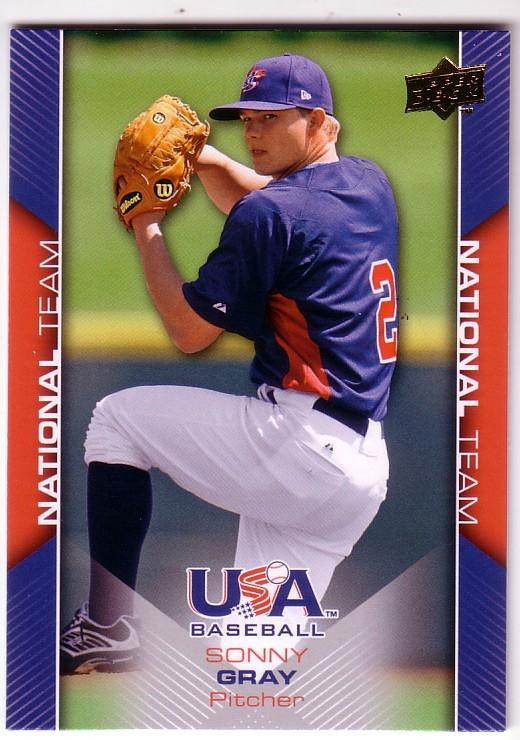 2009-10 USA Baseball #USA9 Sonny Gray