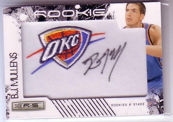 2009-10 Rookies and Stars #152 B.J. Mullens AU/379 RC