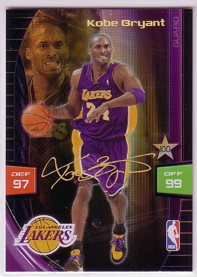 2009-10 Adrenalyn XL Extra Signature #4 Kobe Bryant