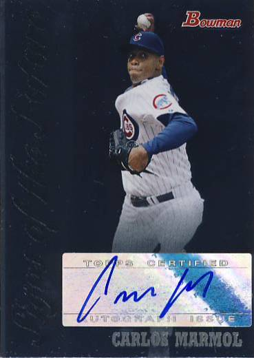 2007 Bowman Draft Signs of the Future #CMM Carlos Marmol