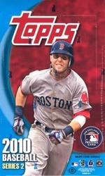 2010 Topps Series 2 MLB Baseball Sports Trading Cards Hobby Box