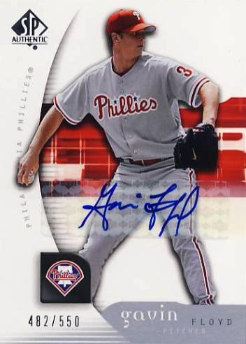 2005 SP Authentic Signature #39 Gavin Floyd/550