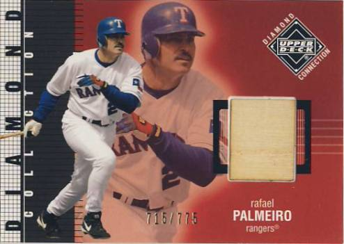 2002 Upper Deck Diamond Connection #414 Rafael Palmeiro DC Bat