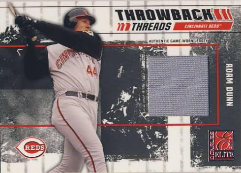2003 Donruss Elite Throwback Threads #31 Adam Dunn